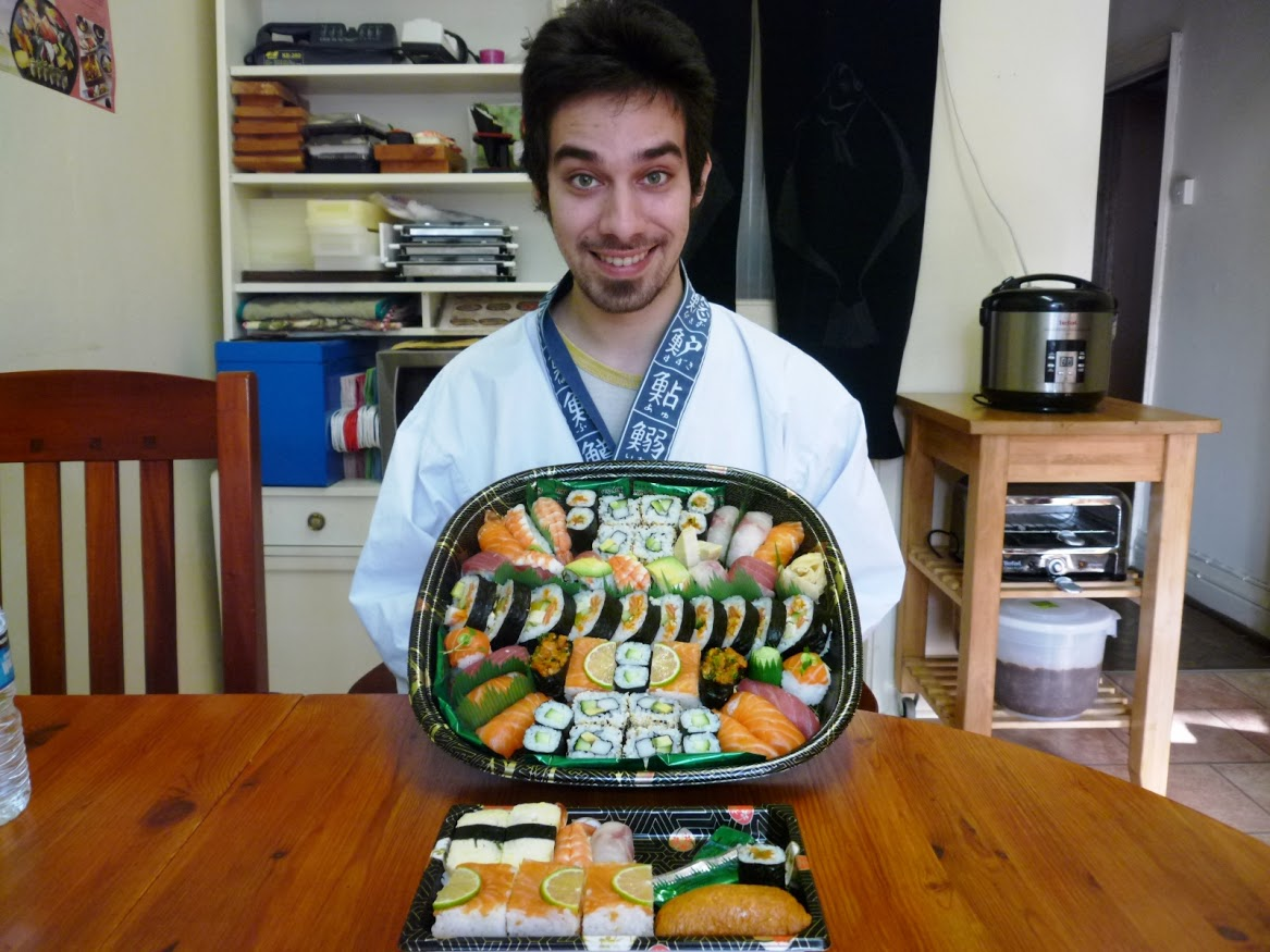"""First of all I have to say that I was looking to learn somehow advanced  course of sushi because I always had a passion with the Japanese  culture and I was experimenting on trying to make sushi by myself just  by watching videos online but then I saw the Nari&Yoshie website and  with the information that they give on the website made me think that  would be a good environment to learn sushi and it was! Nari and Yoshie  made me feel completely comfortable to try and ask questions. I even  asked  if they could teach me specific sushi rolls and they are kindly  enough to teach it to me and give me a book explaining it. Everything is  organized and easy to follow the whole procedure. I recommend to anyone  and thank you again. I hope that a lot new ideas for me will come from  this course."""