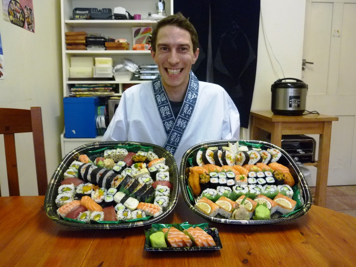 """The course was excellent and very informative – I loved it!  I feel  confident to make Sushi on my own now and will be regularly using these.  The time allowed to learn was perfect and the background to why things  were done a certain way, gave me the information needed to get an  insight into the culture – I shall forever be asking restaurants to make  me an egg roll – just to be on the safe side!  Thanks for all your help and advice – it was a real pleasure!"""
