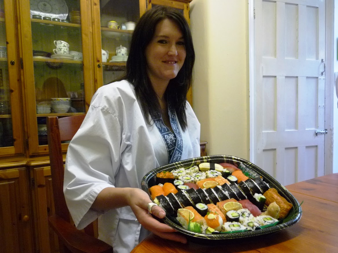 """""""Well i was very excited to have booked this course, and i was not  disappointed to say the least. I was made to feel welcome and  comfortable the second i walk in. Both Nari and yoshie are fantastic  teachers, being clear precise and extremely patient. I had a fantastic  time, learnt so much and will defintely be recommending to my friends.  Went home wtih an amazing platter of the sushi i made. My only  disappointment was 3 hours went so quickly and it had to end  but a big thankyou for teaching me all the tricks to making fantastic sushi  rikki"""""""