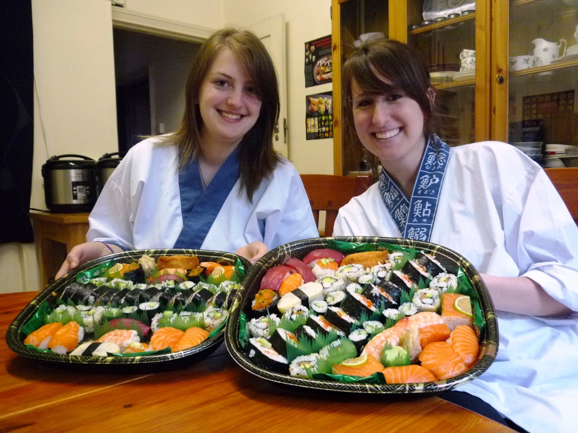 """The course was great fun, we both enjoyed ourselves so much whilst  making all the delicious sushi and then had even more fun afterwards  when we got to eat it all! Nari and Yoshie were great teachers and it  was interesting to learn some facts about the sushi whilst we were  making it, they were both friendly and informative and we would  definitely recommend this course to anyone with a love for all things  sushi!"""