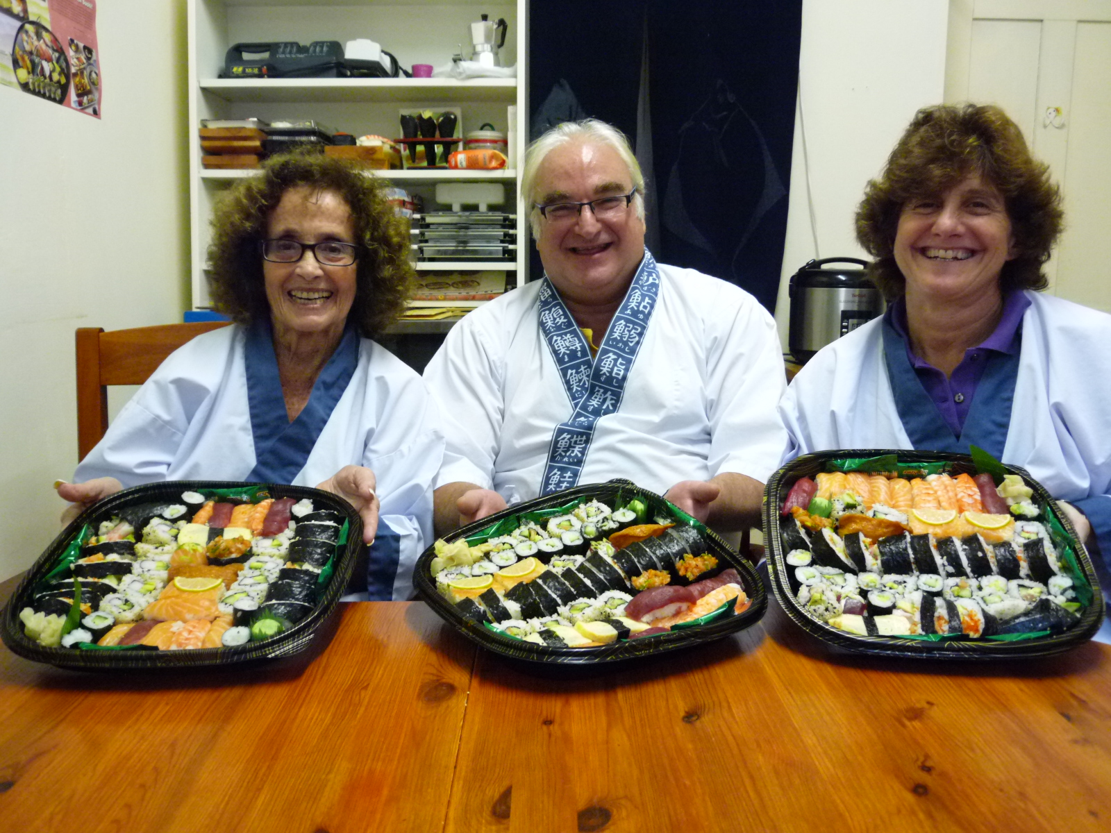 """Thank you both so much for the most enjoyable and informative  afternoon. The course was excellent in both pace and content and the  sushi that we proudly took home was delicious. We all learned so much  and appreciated your professionalism, passion and most of all your  patience. We had a lot of fun and were delighted with the starter kit  that you gave us at the end of the course, we will now be confident  (with a bit of practice) to serve our own sushi at home."""