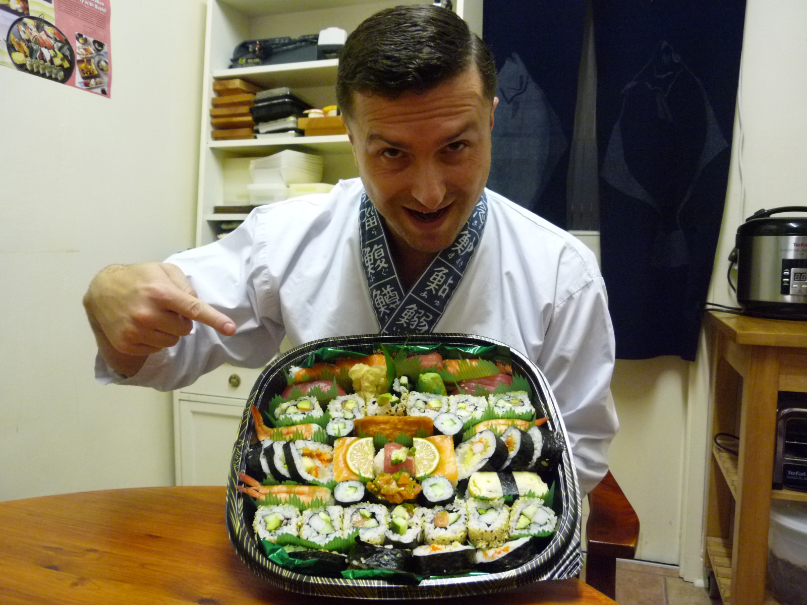 """""""The course was great.  Narihito and Yoshie are great teachers.  Fun and  informative.  My kids enjoyed the Sushi when I got home!"""""""