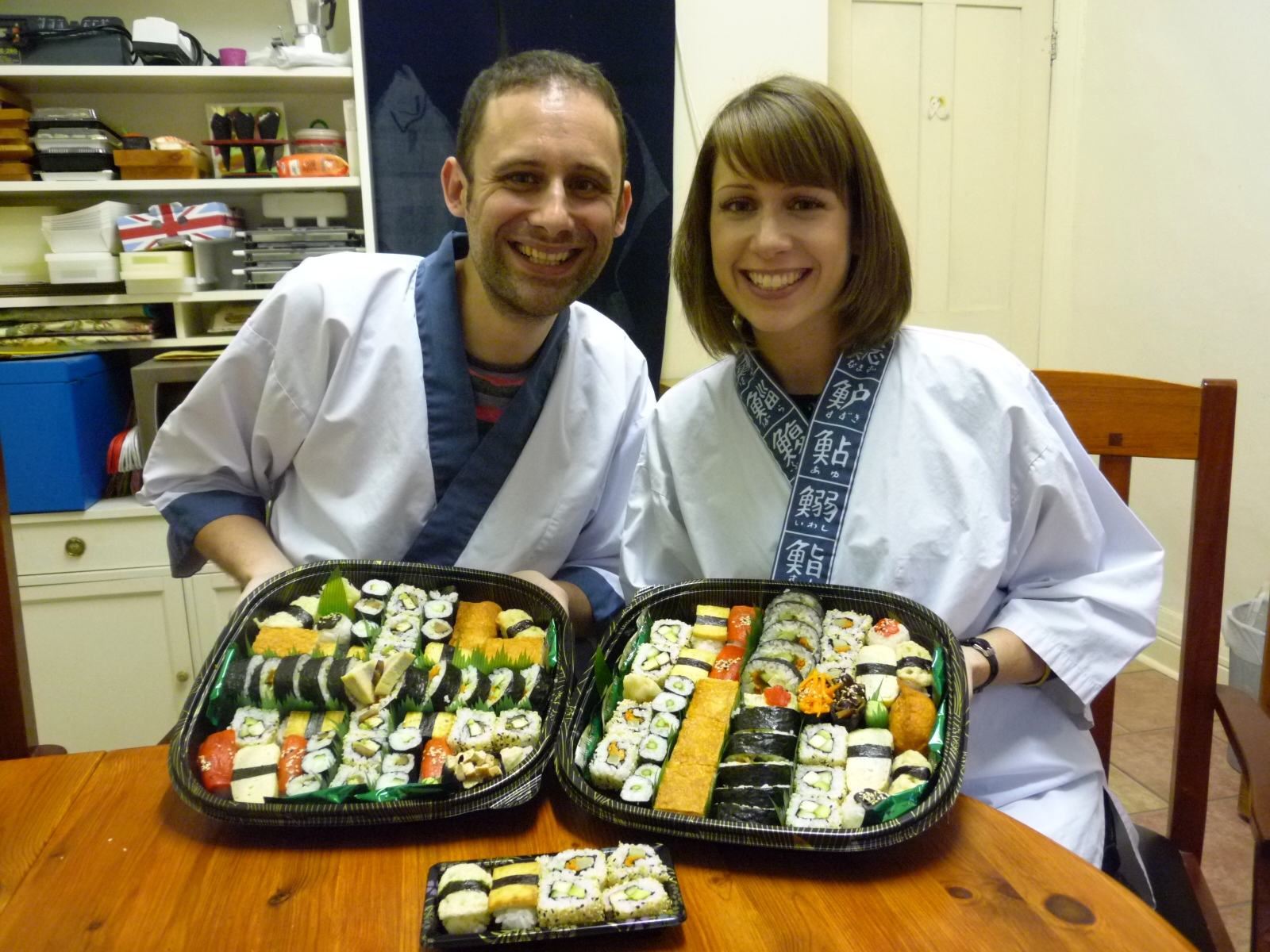 """""""From start to finish, the Vegetarian sushi course with Nari and Yoshie  was informative, well-organised and fun. The kitchen choreography was  impressive, with everything ready to go at the start of each activity.  This meant that although it was a relaxed pace, we still managed to make  around eight different types of sushi! I still can't believe quite how  tasty the sushi omlette was, an entirely different taste experience to  any sushi I've bought! I would recommend this course to anyone."""""""