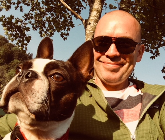 I'm a big fan of David Lynch and Twin Peaks, even named our Boston Terrier after one of the characters, Agent Dale Cooper. He likes to go on adventures…