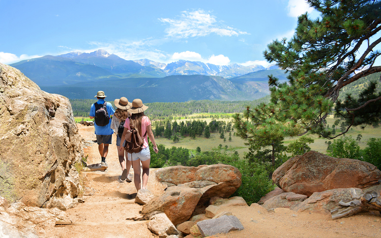 Family hiking in mountains-Estes Park.jpg