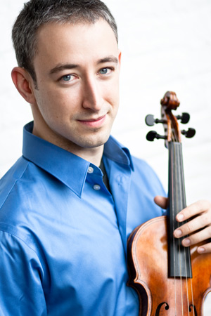 Violinist Jesse Irons, born and raised in Berlin, Vermont, joins the Montpelier Chamber Orchestra for a concert series.