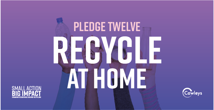 Click the image to make your pledge to Recycle at Home today and be in to win an Amazon Kindle Fire!
