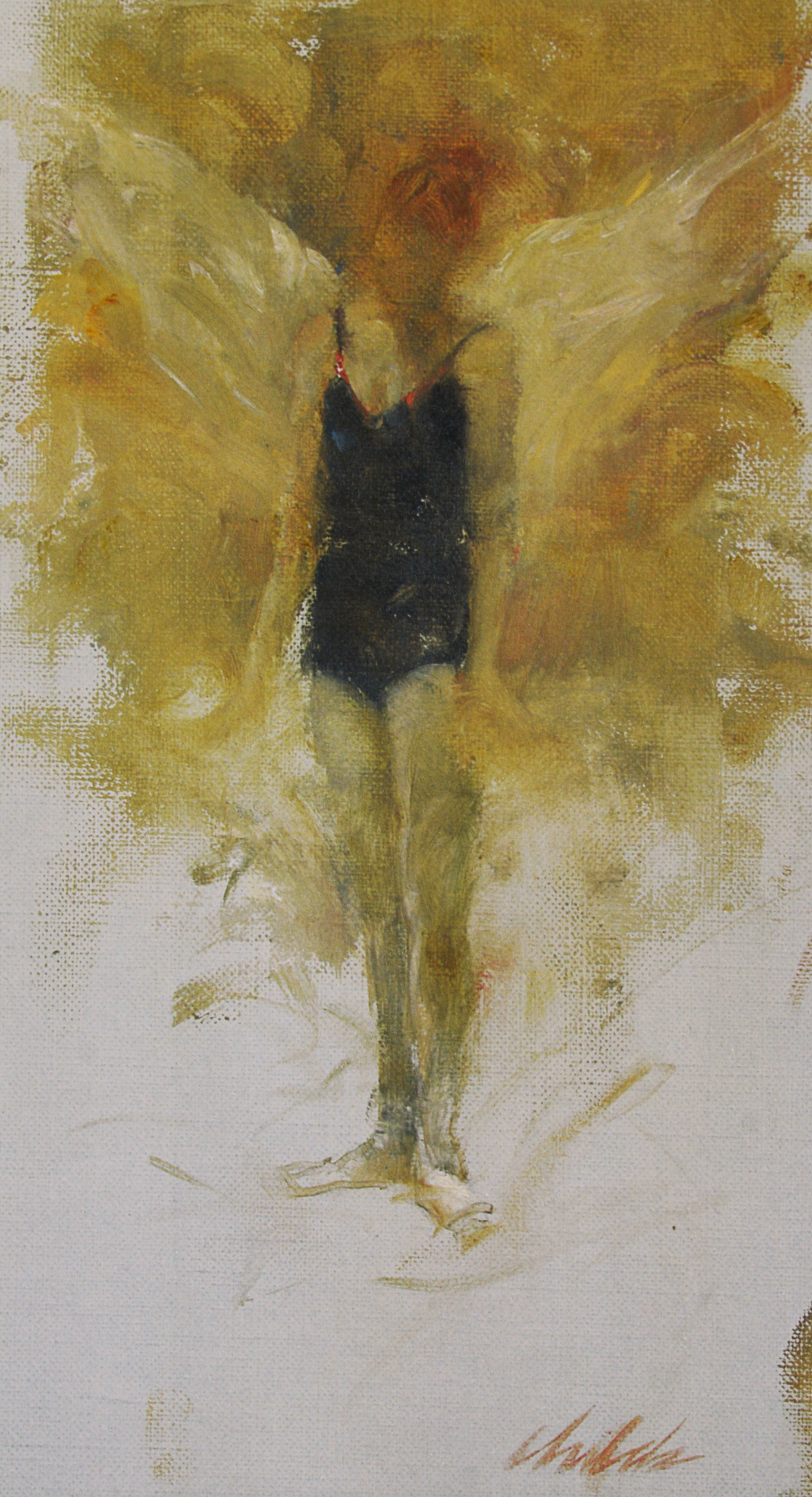 Dancer Angel - 9x12