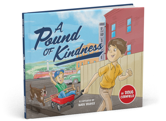 Children's Book - First-grader Dave Clark lost the use of his legs to polio as a baby, so when his teacher announces a walking field trip to the local firehouse, Dave is worried. What if he can't keep up? Luckily, his fellow classmate Ernie Pound concocts a plan so Dave can join in the fun.