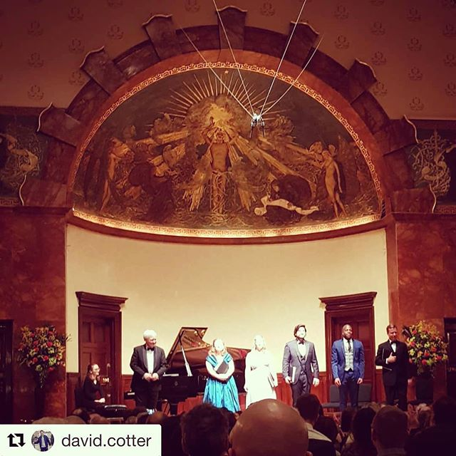 #throwbackthursday #lastmonth @wigmore_hall @lordmayorofwestminster @ilkertenor #ailishtynan #stephanloges #grahamjohnson #alltheworldsastage #london #singerslife #mezzo #lieder #birthdayfun