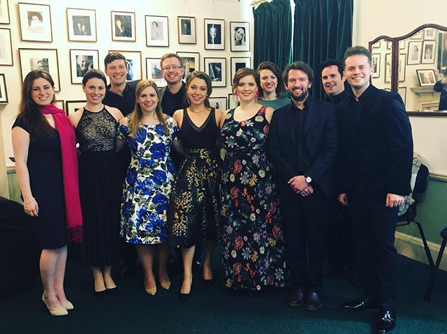 Lovely group snap of this year's #sidebyside @guildhallschool students after their concert today @wigmore_hall with @theprinceconsort. Some really wonderful singing and playing - a joy to work with them over the last few weeks. A particularly great programme this year @alisdairhogarth @lauramucha  #grahamross #jakeheggie #purcell #quilter #ireland #leflemming #stephenhough #lookingforwardlookingback #mezzo #soprano #tenor #baritone #piano #lied #englishsong #americansong #collaborative #collaboration #singing #singingwithfriends #ilovemyjob