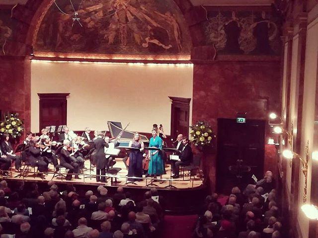 What a wonderful week singing some glorious Handel with some old friends ❤️🎵 #annadennis @edwardgrint @londonhandelfestival @londonhandelplayers  #handel #london #londonhandelfestival #wigmorehall #singersofinstagram #soprano #mezzo #mezzosoprano #baritone #bassbaritone #opera #naples #cantata