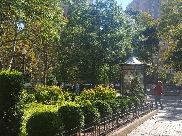 Rittenhouse Square in autumn