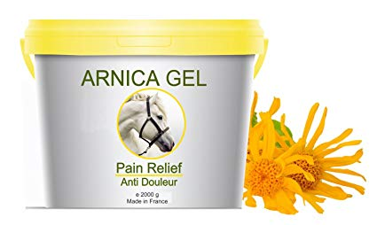 Arnica gel eases muscles aches, great if you can't get a massage in Shropshire after your run