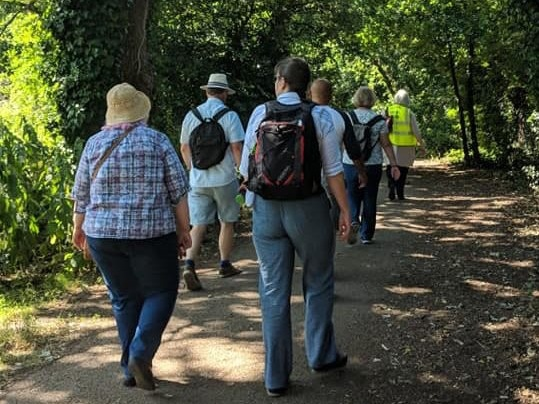 Stretches for walking in Shropshire