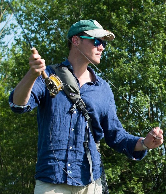 Arthur - Arthur has been with ChalkStream® from the outset and has a love for all things fish and fishing. Overseeing all aspects of the business he is equally at home taking orders from customers, guiding chefs on the river or checking stocks on the farm.Email Arthur