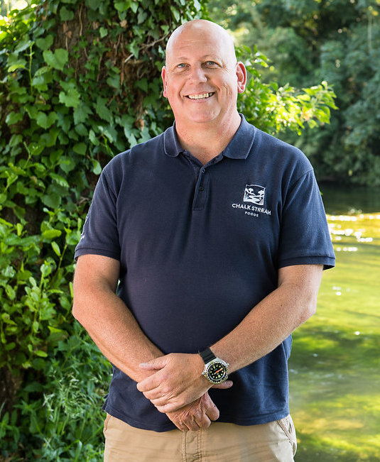Lee - Lee has been with us from the start and now heads up our local sales. If you are a pub, restaurant or food business in Hampshire or the surrounding counties and want to use our ChalkSteam® trout he is the man to speak to.Email Lee