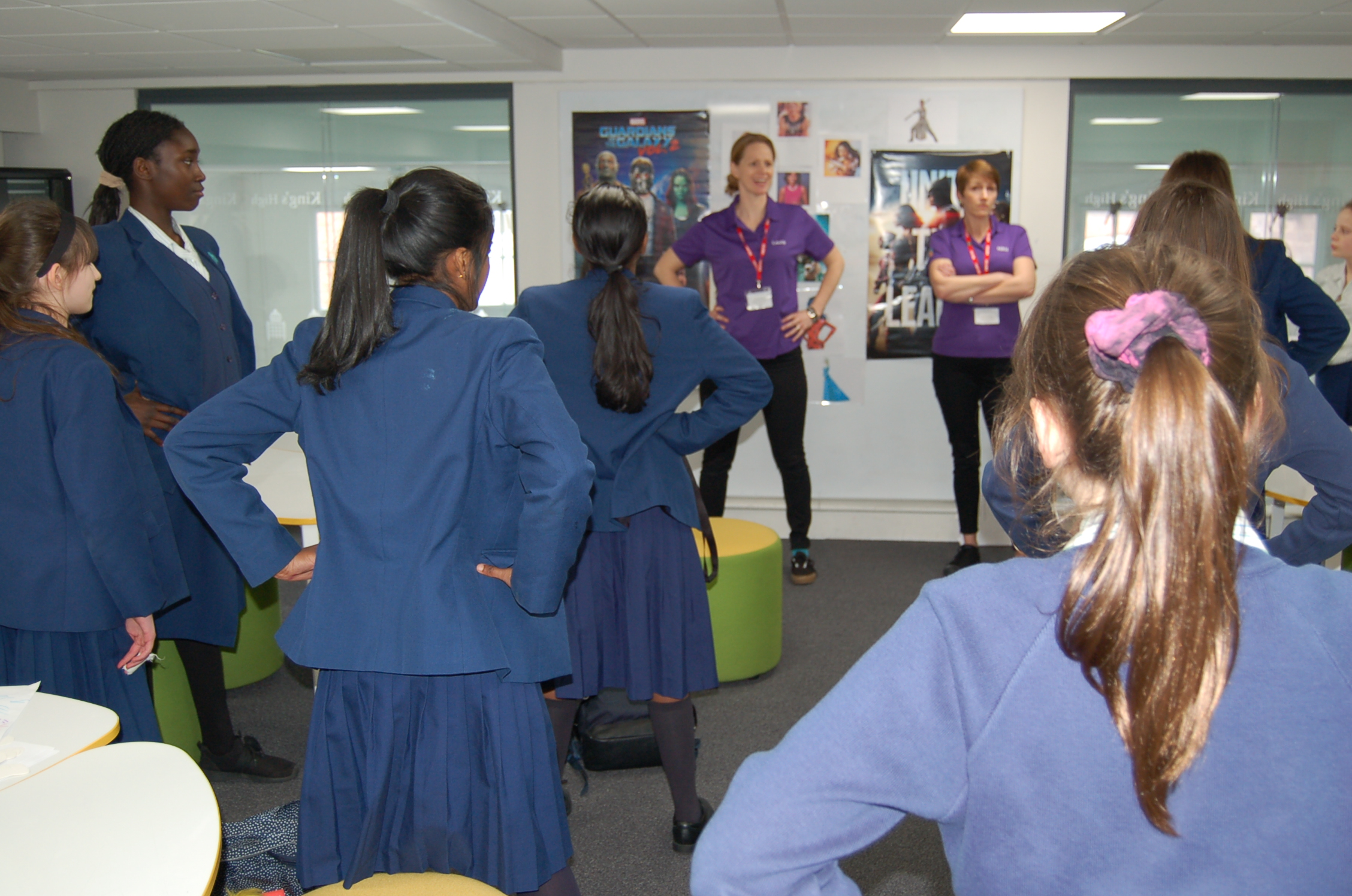 Transition workshop - Students learn that nerves and excitement and anxiety are a normal response to new situations, they learn how their mind and body connect and how to influence this to be more confident on new situations, learning how to use visualisation techniques to promote successful outcomes.