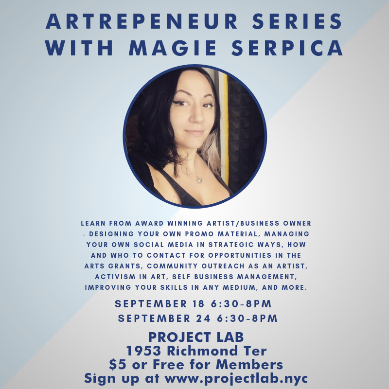 Artrepeneur Series with Magie Serpica