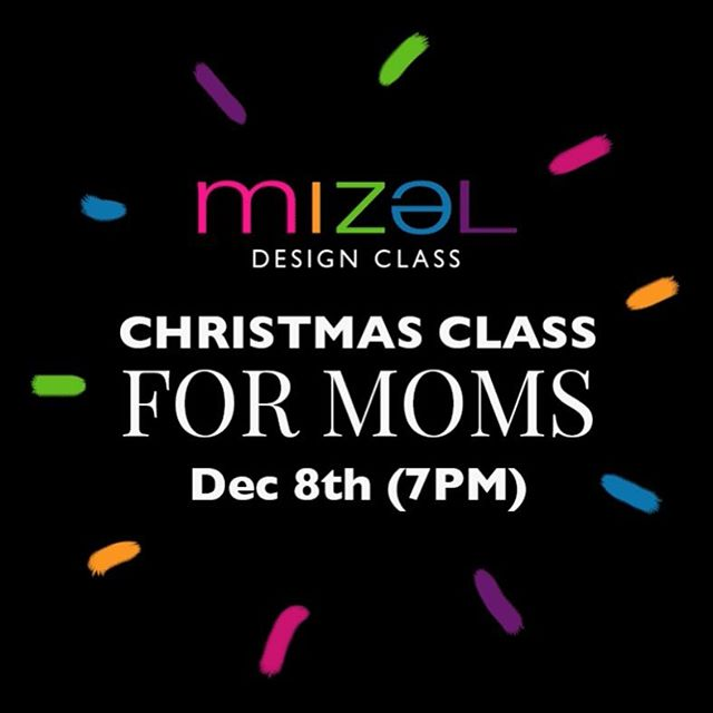 Designing Christmas presents (hairbands, pearl necklaces, earrings) ❤️💚 Weekend Christmas class for moms coming soon In December! #mizelkids @mizelkids