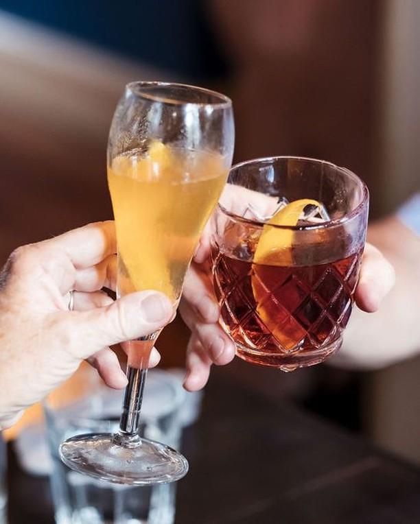 """I am always happy to meet my friend, and my friend is my weekend."" -- Debasish Mridha 📸: @highproofpreacher . . . . . @cognac_official #cognac_official #cognac #cognacUSA #CraftSpirits #Craft #Spirits #Drink #Imbibe #cognacstyle #cognaclife #cognacLover #ExperienceCognac #instacocktail #instadrink #drinksofinstagram #cocktailsofinstagram #specialtycocktail #booze #cocktailculture #CognacCocktails #cocktail #cocktails #TGIF #Friday #totc"