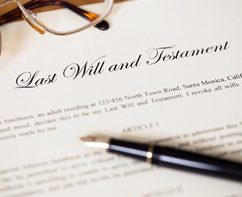 Making a Will -