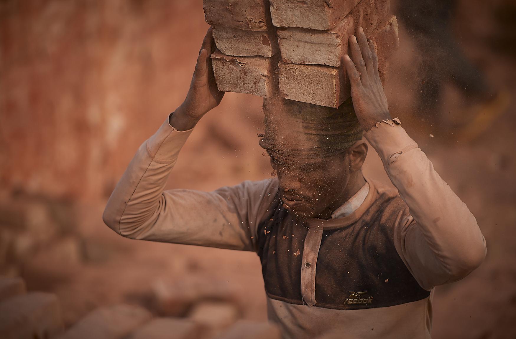 bangladeshi brick factory worker