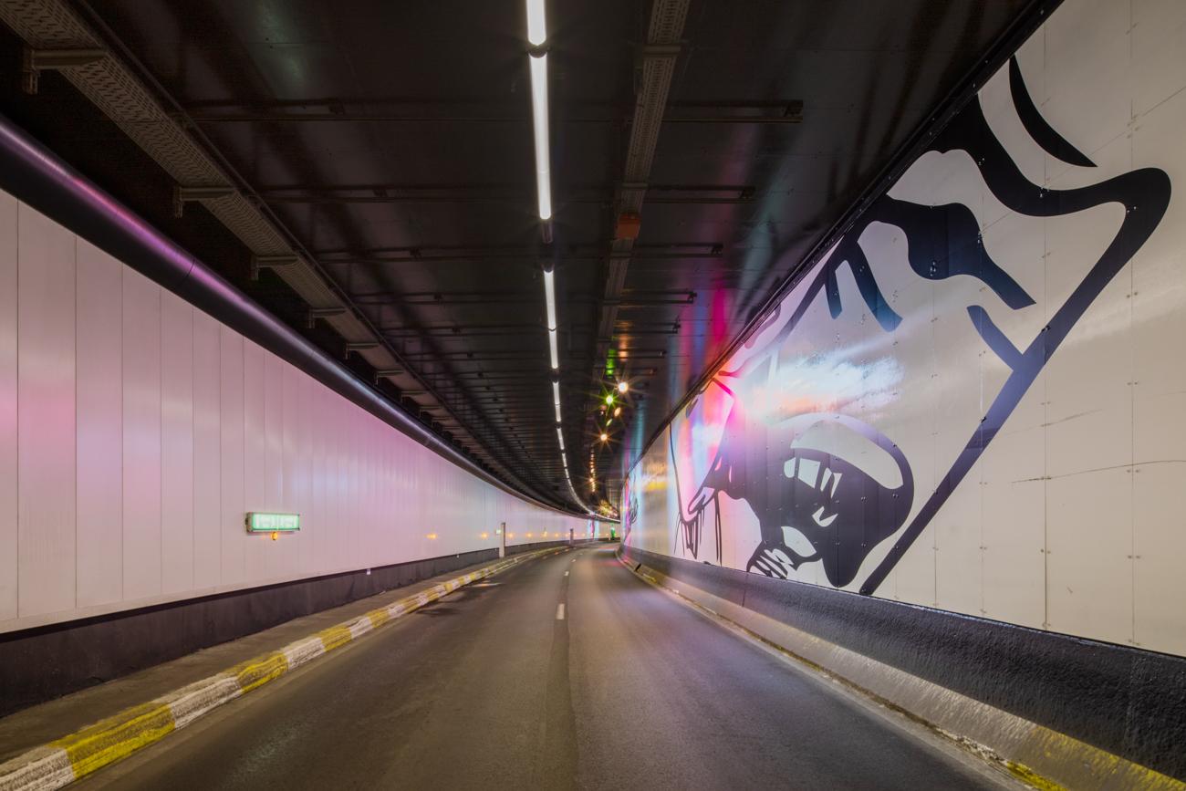 Tecnospecials Hallepoorttunnel -1B