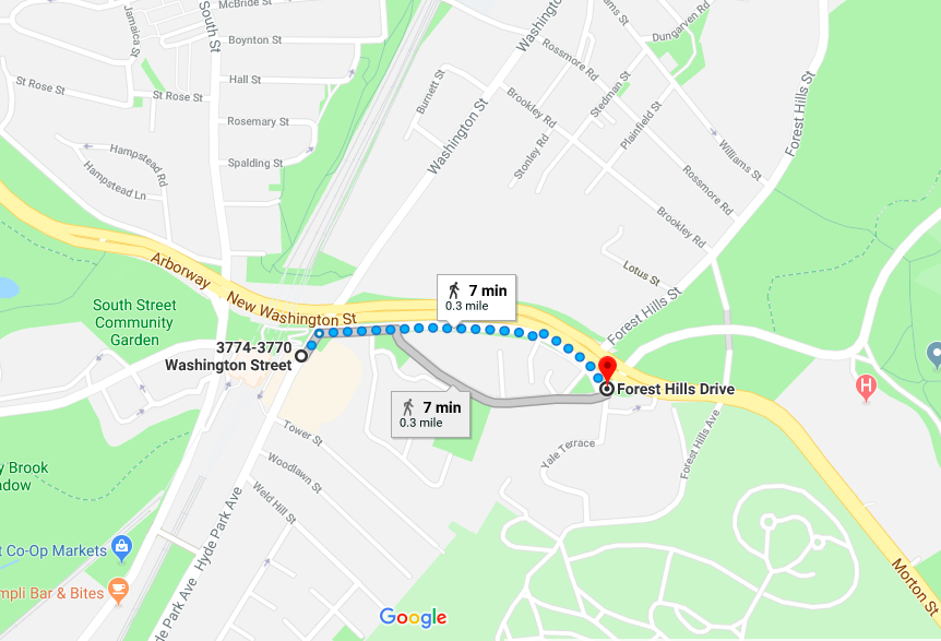 """2. Franklin Park - An 8 minute walk from Forest Hills T Stop. Look for """"The Wilds"""".https://www.franklinparkcoalition.org/map/"""