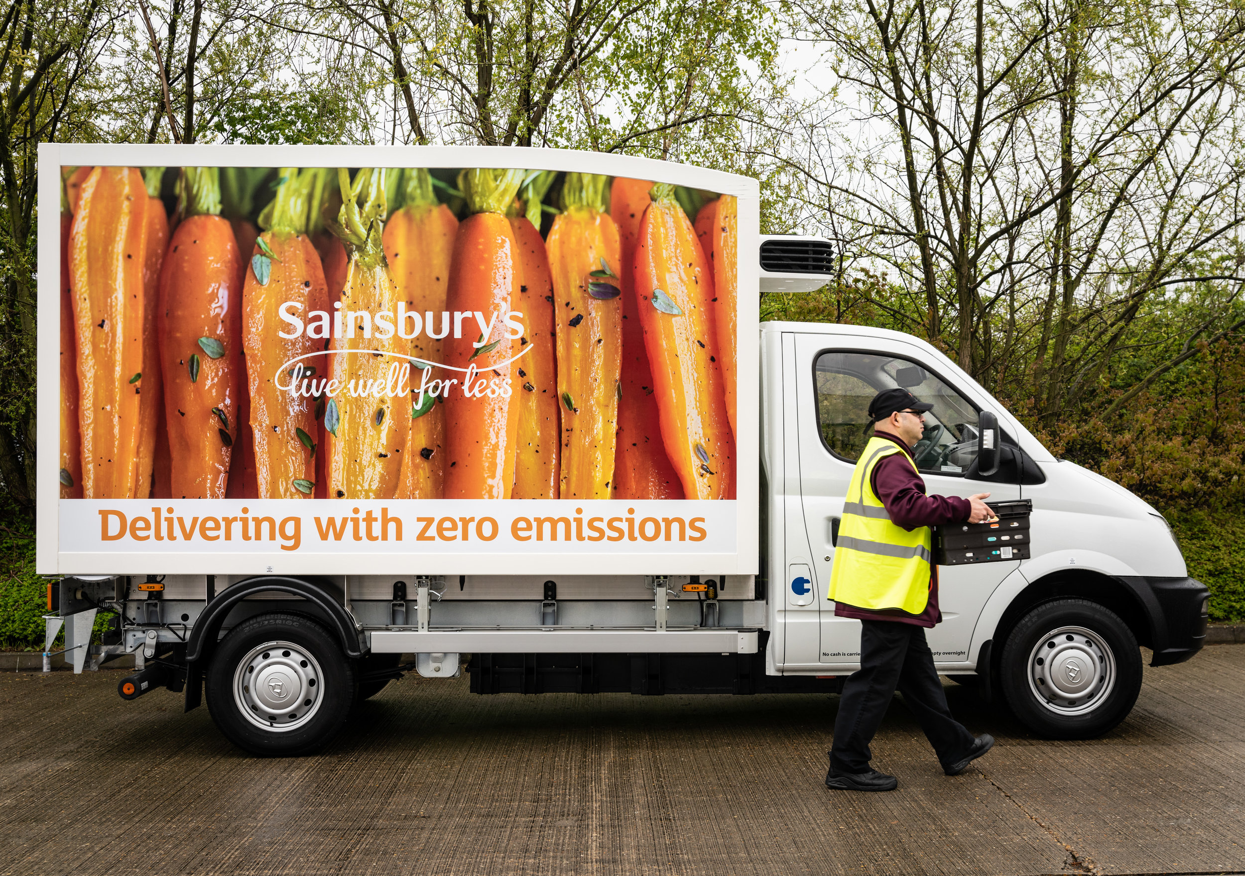 Sainsburys electric van - first delivery.jpg