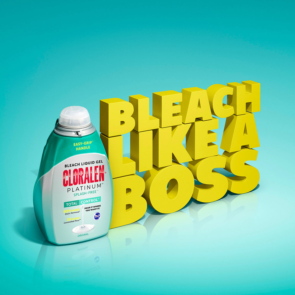 CAVALRY AND CLORALEN ENCOURAGE YOU TO BLEACH LIKE A BOSS