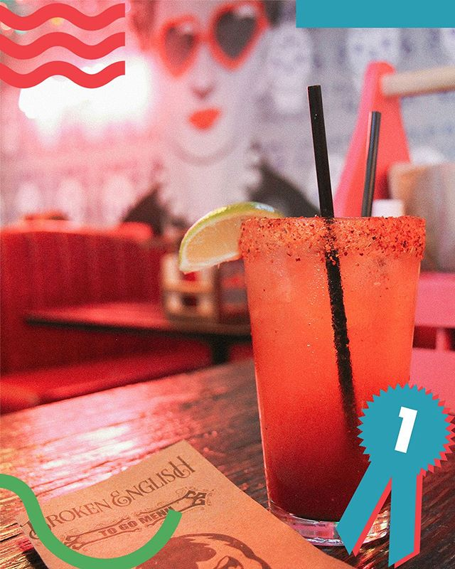 The title of Best Michelada in Chicago goes to Broken English. From flavor to spice, it had everything nice. And just look at how pretty it is.#CavalryTop5 #TopFive #ThisIsCavalry #summerinterns #adinternship #agencylife #chitown #TGIF #michelada