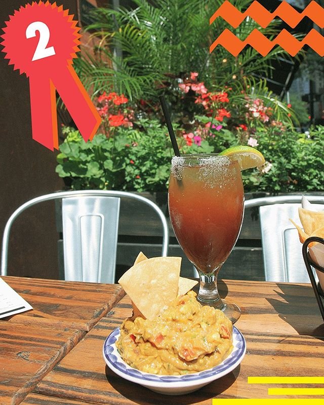 Mercadito's Michelada comes in at number two with a great balance of savory and sweet.We also might be a little biased because of their delicious mango guac. #CavalryTop5 #TopFive #ThisIsCavalry #summerinterns #adinternship #agencylife #chitown #TGIF #michelada