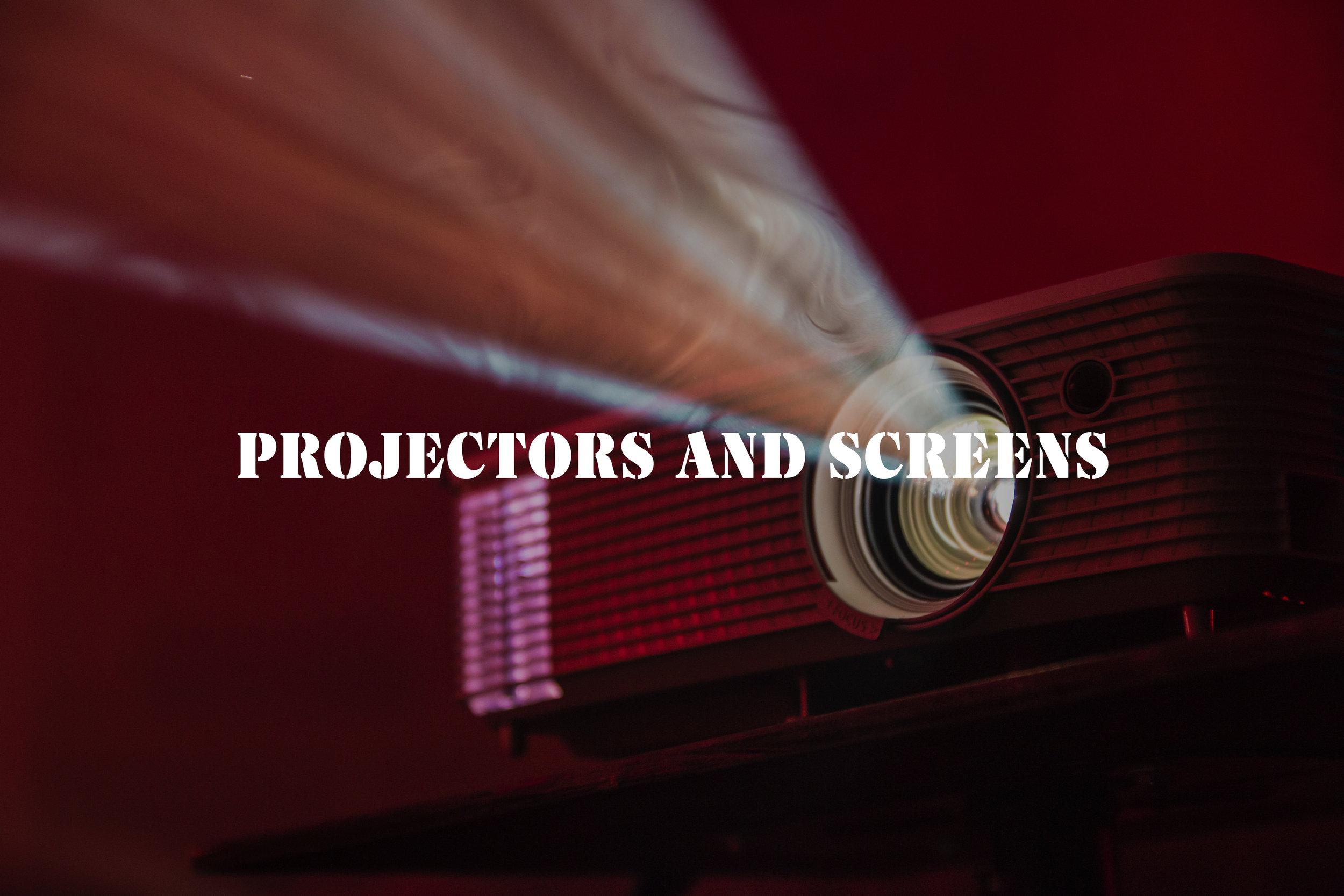 Projectors and screens.jpg