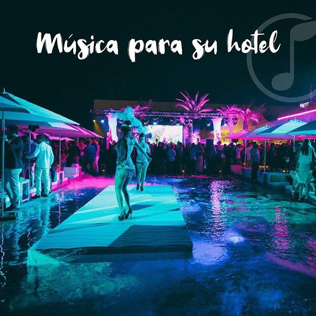 Tenemos la música perfecta para su hotel!!! Seleccionamos la música adecuada para todo tipo de hotel. Logramos una variedad de climas musicales acordes a los diferentes espacios y momentos del día.  Con nosotros, puede elegir entre varios ambientes y géneros que se adapten a su hotel. ¡Creamos la mejor experiencia para sus clientes!