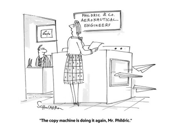 A little #copierhumor. Do you use Canon or Konica Minolta? Need an upgrade? A service plan? What's your line of work - everyone still uses paper!  contact us www.easterncopyfax.com to learn more  #KonicaMinolta #OfficeMachines #CanonCopier #PrinterSupplies #GloucesterMA #BostonOfficeEquipment #MultifunctionPrinters #MultifunctionCopiers