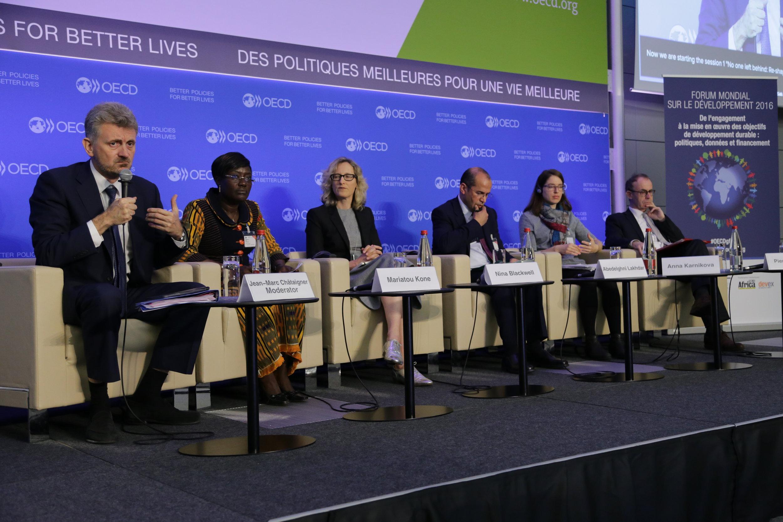 31 March 2016 The 2016 Global Forum on Development OECD Headquarters, Paris, France Photo: OECD/Andrew Wheeler