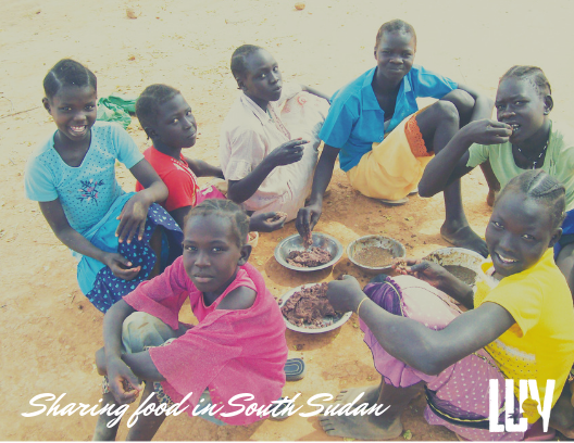 Sharing Food in South Sudan