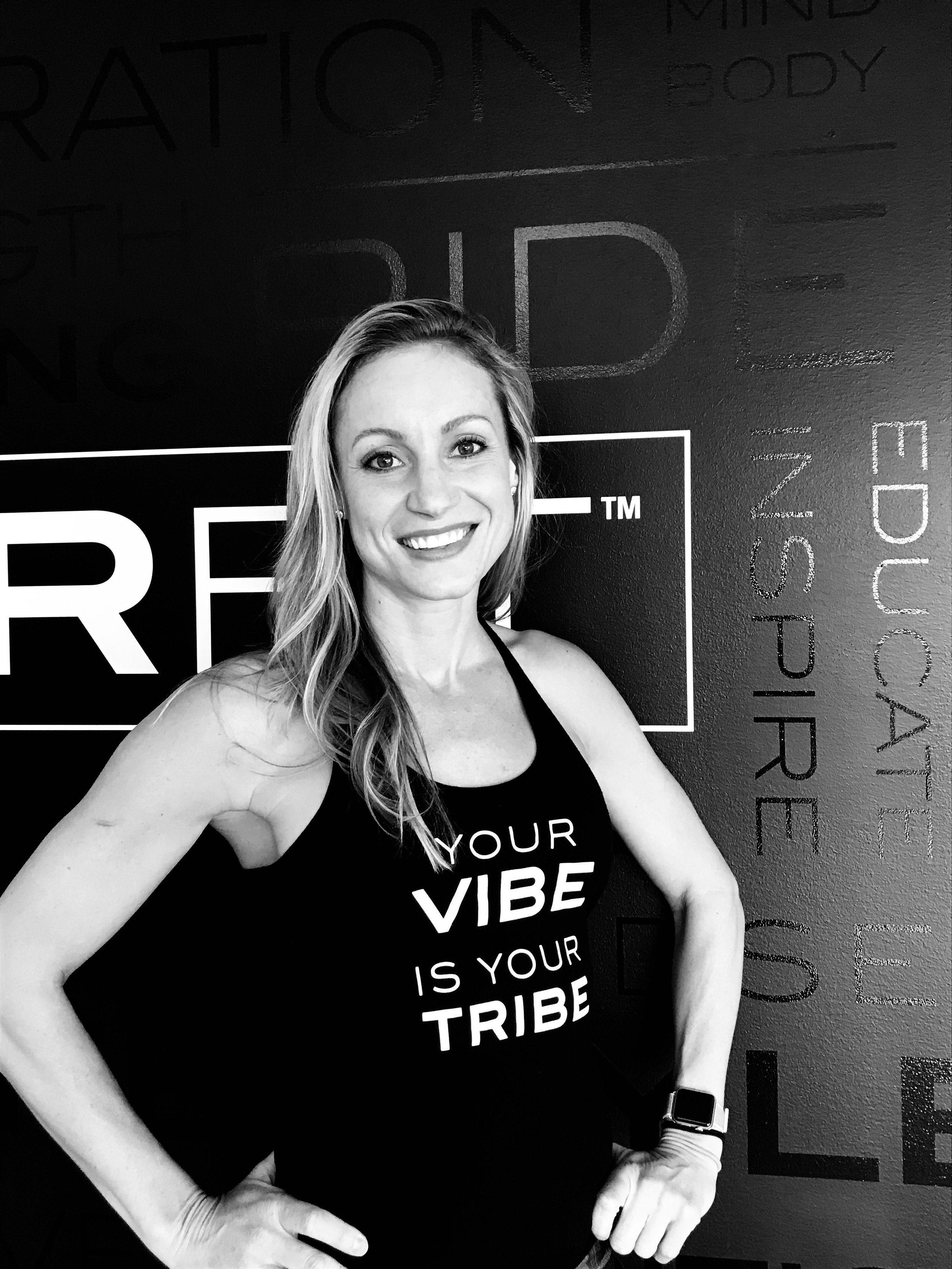 CARRIE WESSLING - Carrie has spent her life passionately involved with athletics, fitness, wellness, and yoga. She is trained in teaching strength and conditioning as well as PYTT 200 Hour RYT certified. Her teachings are focused on listening to your body, setting goals, reaching goals, and always keeping it fun! Guaranteed to see her groovin' to her music during the workout which will leave you drenched in sweat and feeling accomplished!