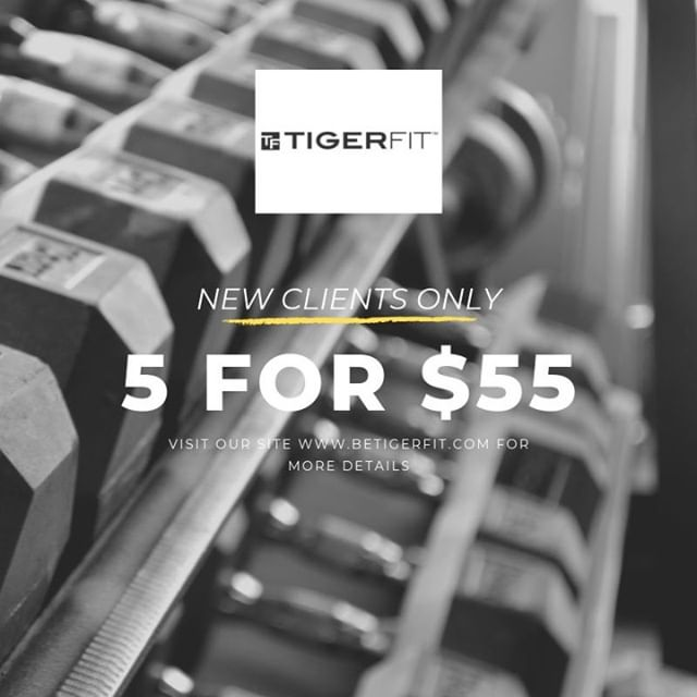 5 Classes for Only $55!⠀ ⠀ Try Our Signature Classes like LIFT, STRONG, and TREADX.⠀ Expires 14 Days After Purchase. New Clients Only.⠀ ⠀ Sign up online or in-studio today!⠀ ⠀ #BeTigerFit #mpls #mplsfitness #fitnessmpls #stp #myminnesota #onlyinmn #thisisminnesota #minneapolis