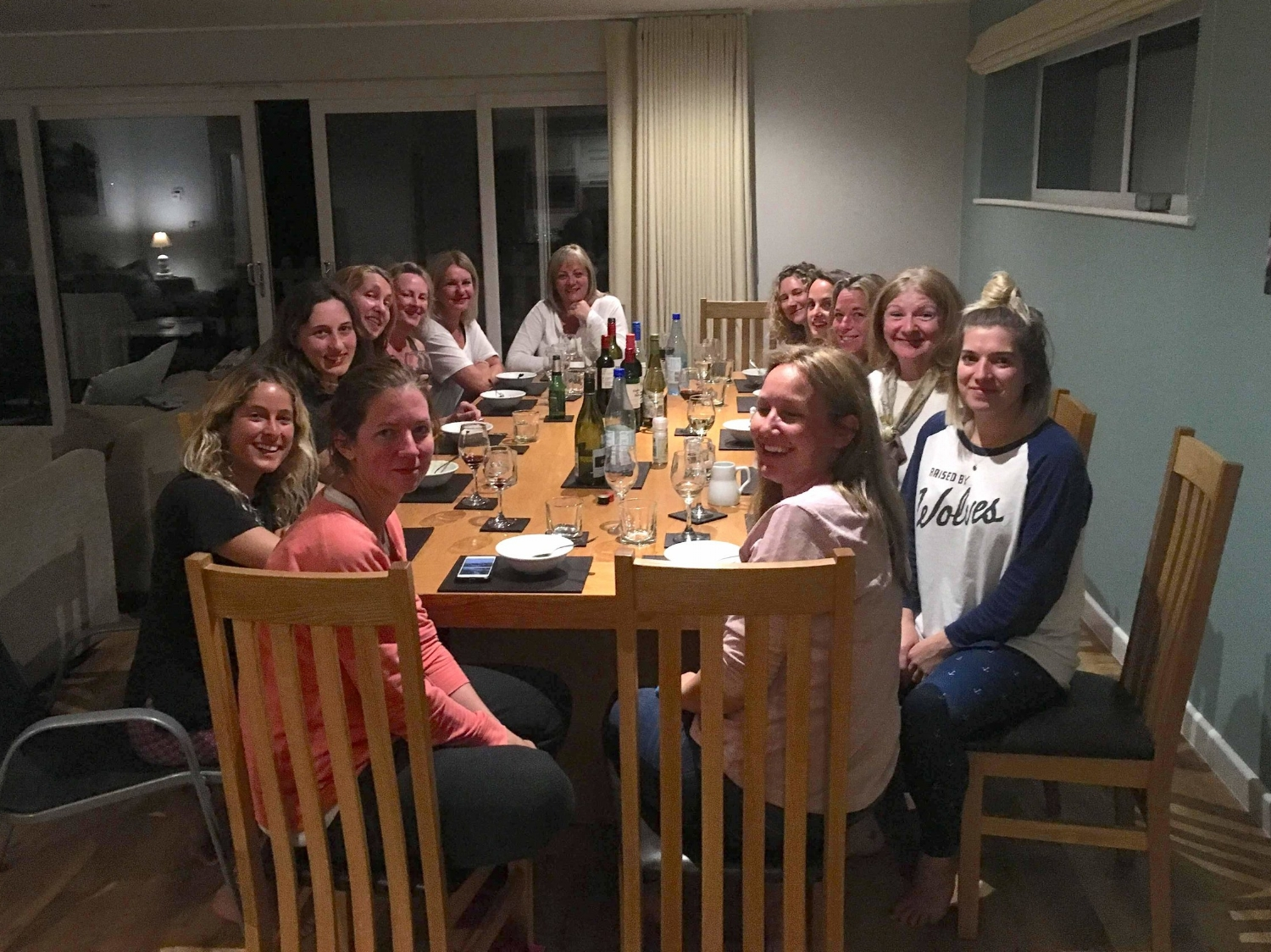 Dinner - We eat out as a group with the hosts and surf instructors at lovely local Cornish pubs & restaurants in Perranporth all walking distance from our accommodation.