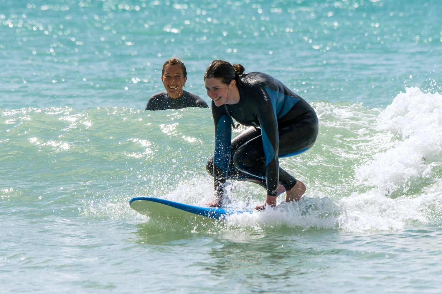 Learning to surf safely and respectfully…