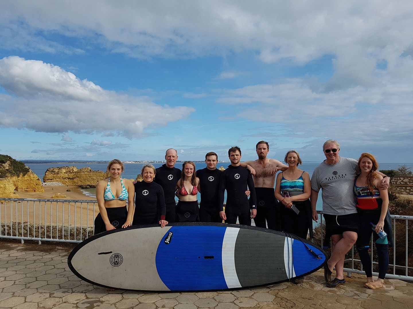 Family group private SUP, Surf and Yoga Retreat!