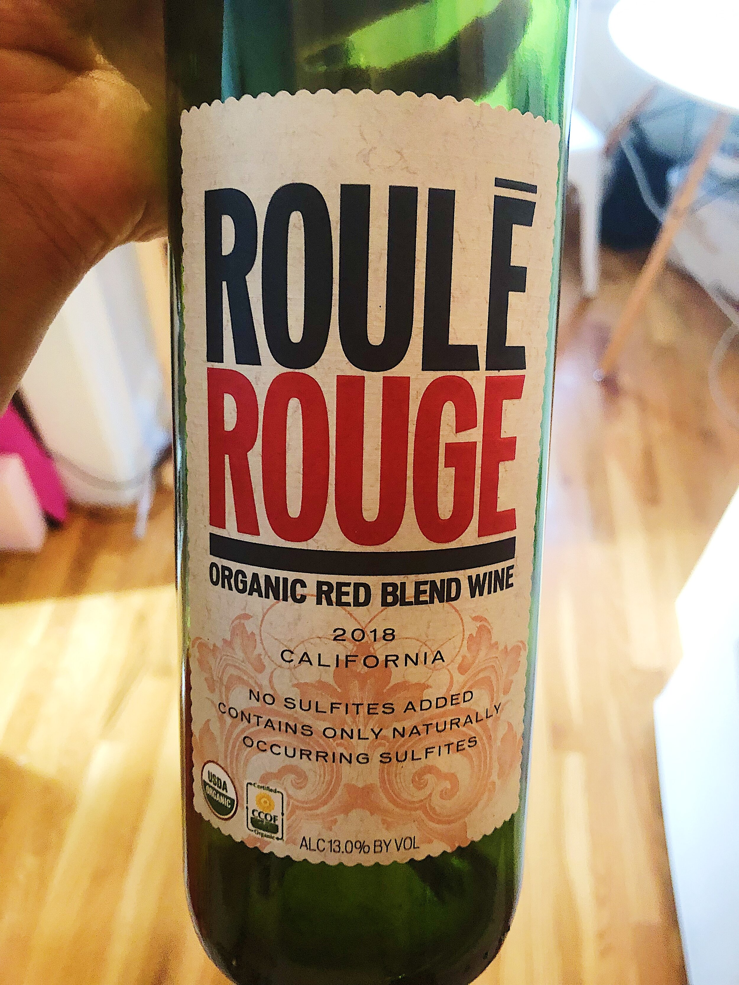 I liked this bottle (also organic!!!) a bit more. Never thought I'd be a red blend drinker, but Organic wine is important to me.