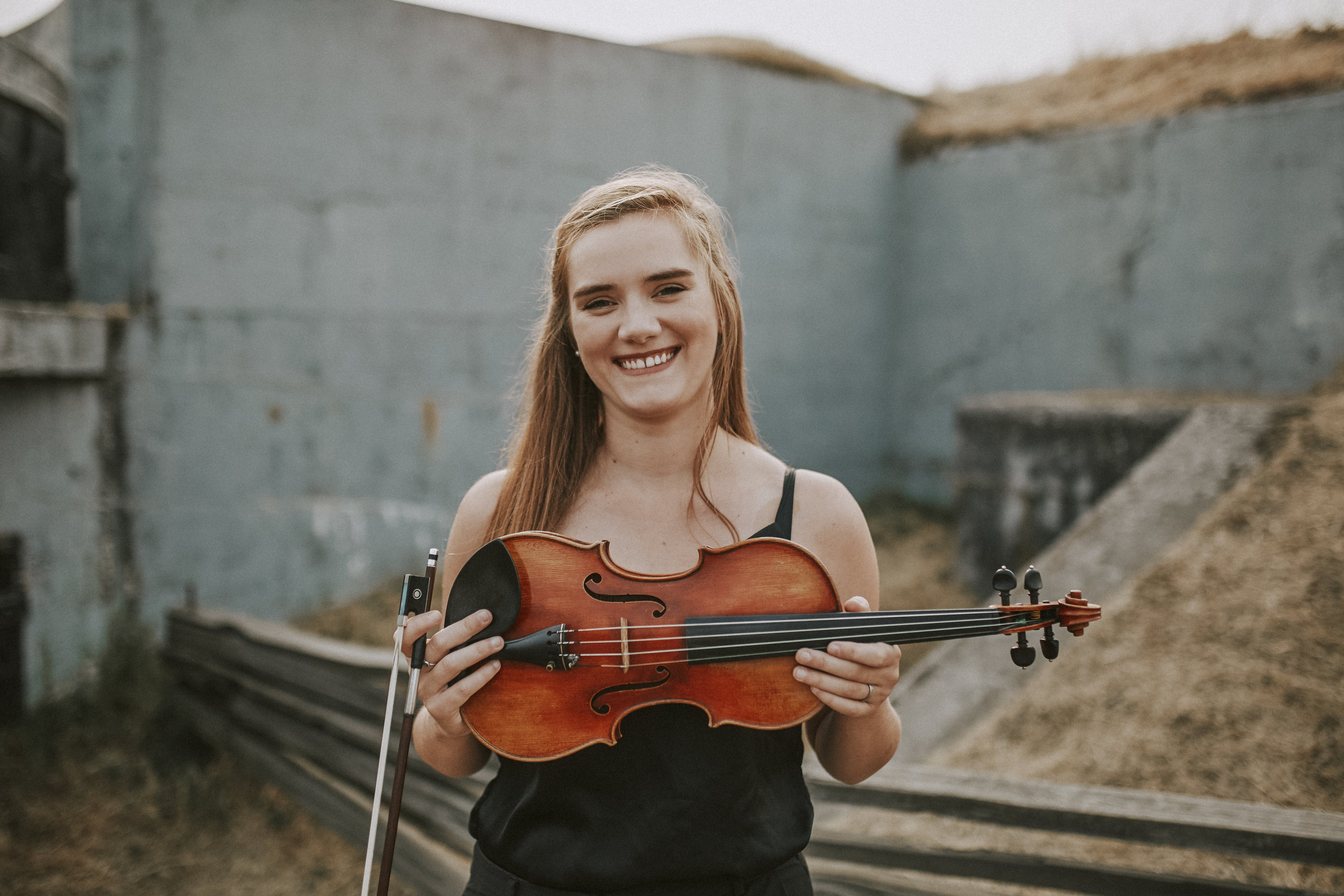 Kathryn wiebe - modern + baroque violin, educator, arranger
