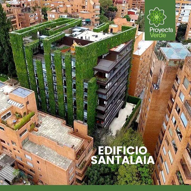 #DatoCurioso El Santalaia está ubicado en Bogotá - Colombia, y es un edificio residencial diseñado para estar completamente cubierto con más de 115.000 plantas 🍃, lo que lo posiciona como uno de los jardines verticales más grandes del mundo 🌎. Fue construido con el objetivo de mejorar el medio habitable, utilizando una alternativa ecológica que reconectara el entorno urbano con la naturaleza 🏢🌱.