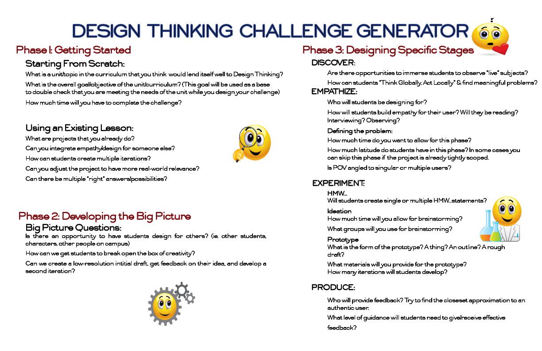 DT Challenge Generator
