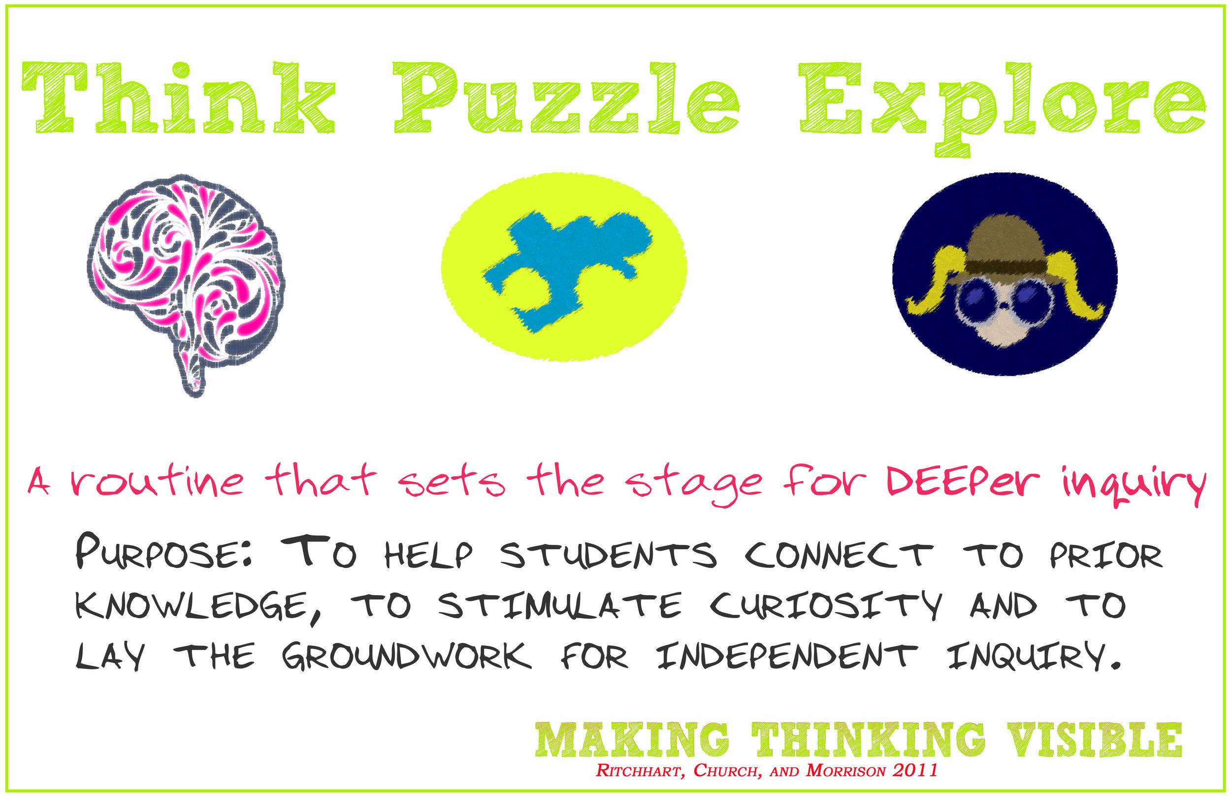 VTR thinkpuzzleexplore