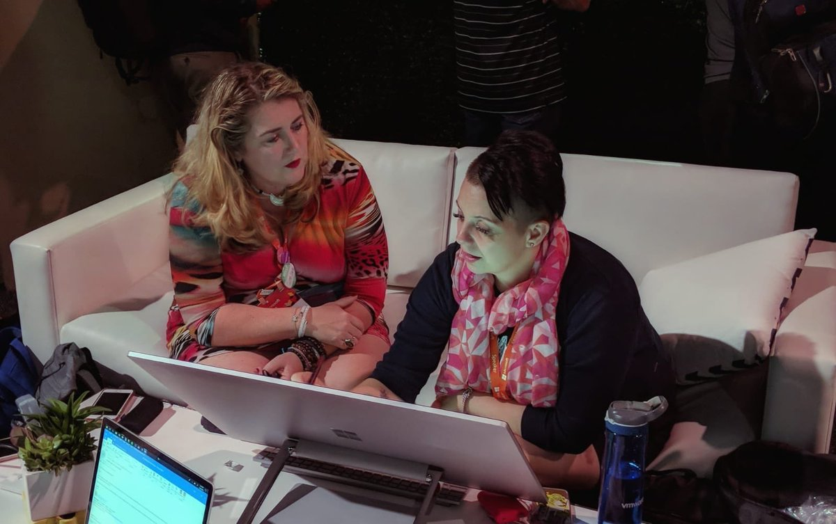 Heather and Luise at Ignite.jpg