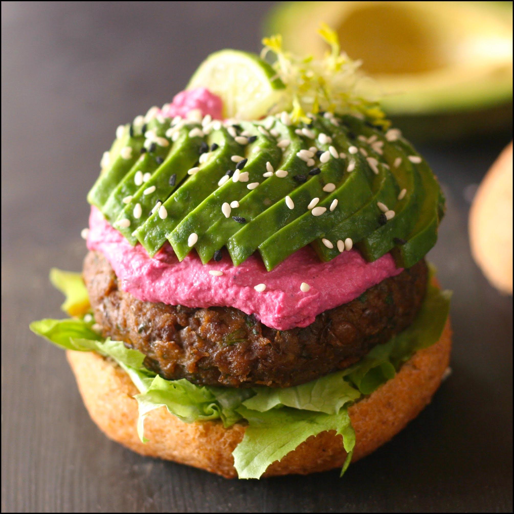 Lunch 2 - Mushroom Burger